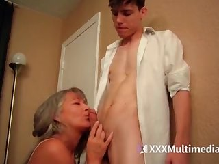 Older operate mother plumbs youthful sonny - Leilani Lei