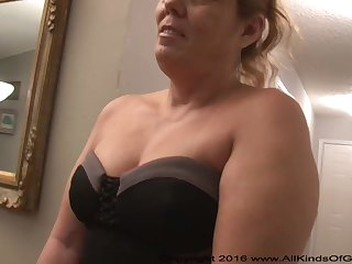Mexican grandmother gilf with large ass attempts give someone hell assfuck untalented gunge