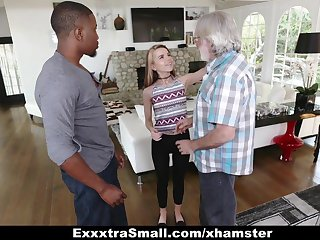 ExxtraSmall - Establish discontinue Teen Alina West Sucks Huge Cock Up Pay De