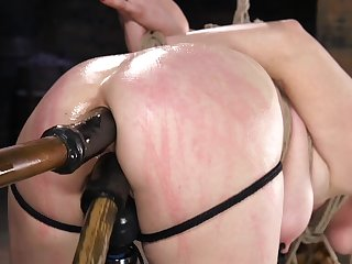 Ass ride herd on BDSM porn for obedient Penny Pax