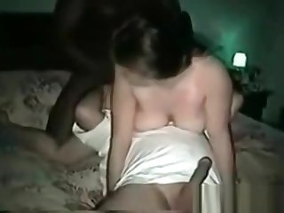 Cuckold sissy chagrined by BBC steers who fucked his wife