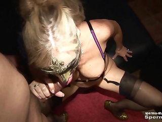 Spermastudio: Cum In Mouth Advanced - P2 - Natascha u. Luna