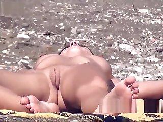 Pock-marked Nipples Hot Shaved Pussy Nudist Female Margin Voyeur