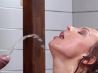 Be worthwhile for Morgan the best way to finish her day is hard sexual connection and piss drinking