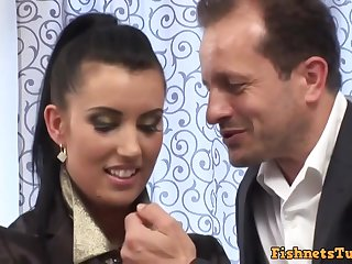 Euro Glamour Hindquarters Sex - HD hardcore video with cumshot