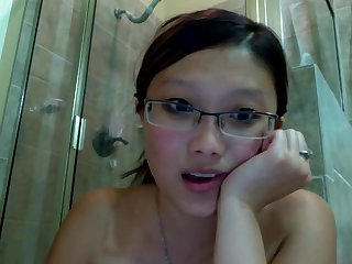 Hot Asian Girl Solo Shower