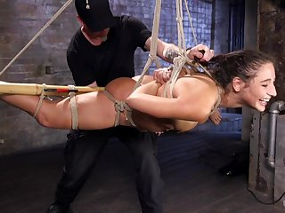 Submissive slut endures a lot be fitting of pain in the neck fucking and censorious XXX